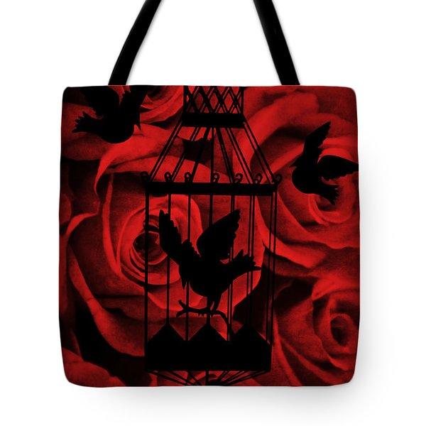 Live Free Tote Bag by Angelina Vick