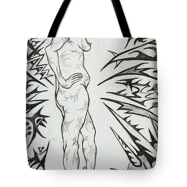 Live Nude Female No. 31 Tote Bag by Robert SORENSEN