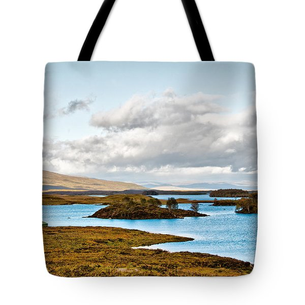 Loch Ba View Tote Bag by Chris Thaxter