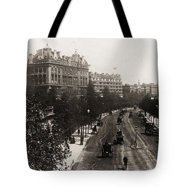 London: Embankment, 1908 Tote Bag by Granger