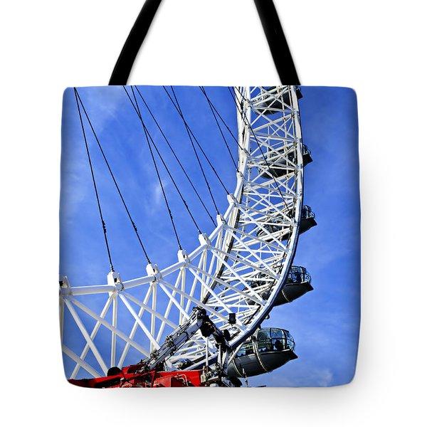 London Eye Tote Bag by Elena Elisseeva