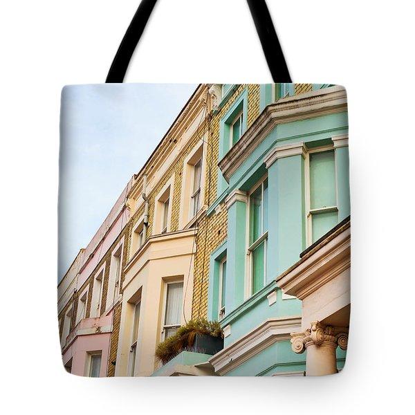 London Houses Tote Bag by Tom Gowanlock