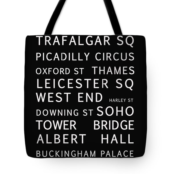London Tote Bag by Nomad Art And  Design