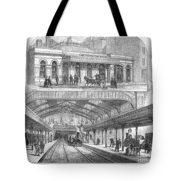 London: Railway, 1876 Tote Bag by Granger