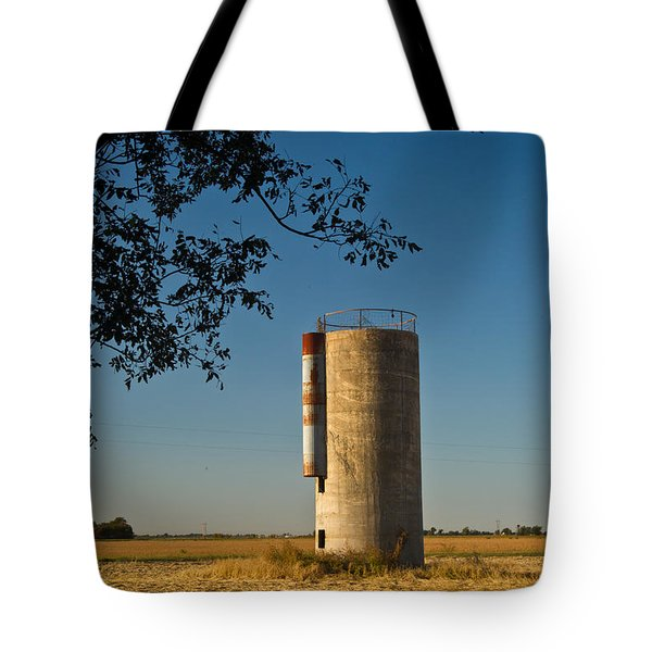 Lonely Silo 2 Tote Bag by Douglas Barnett