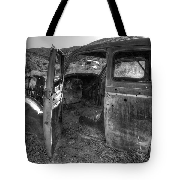 Long Forgotten Tote Bag by Bob Christopher
