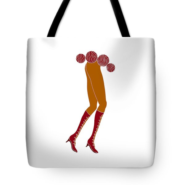 Long Legs Tote Bag by Frank Tschakert