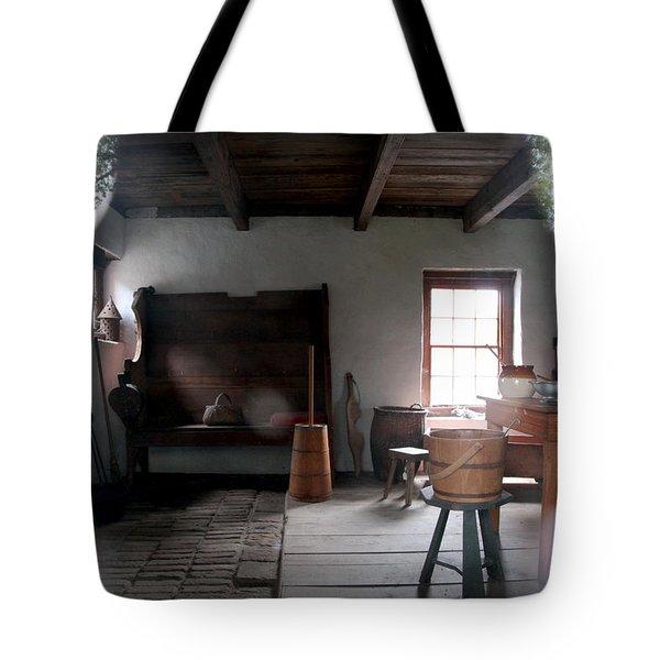 LOOKING BACK Tote Bag by KAREN WILES