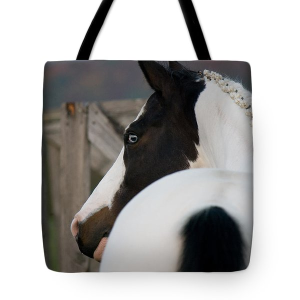 looking back Tote Bag by Ralf Kaiser