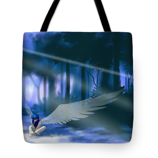 Looking For Light Tote Bag by Alice Chen