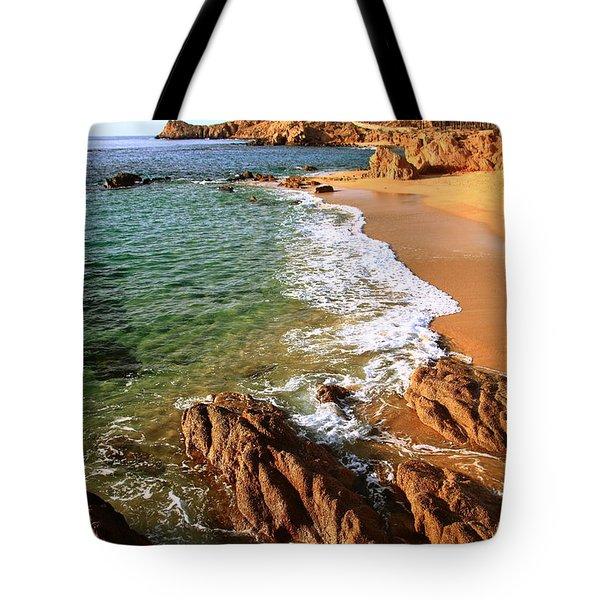 Los Cabos Coastal Landscape Tote Bag by Roupen  Baker