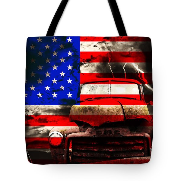 Lost In America Tote Bag by Wingsdomain Art and Photography