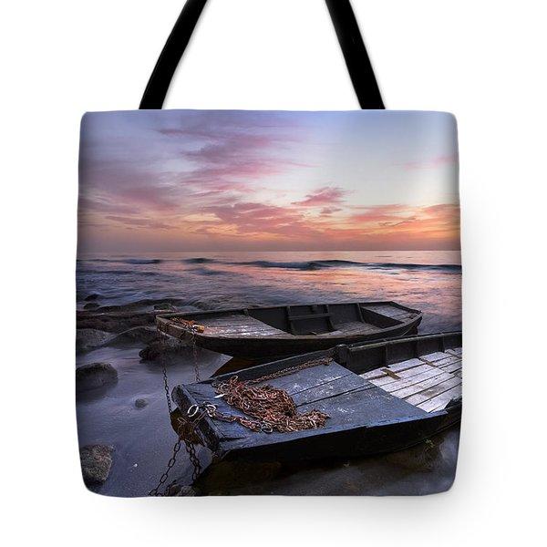 Lost Sailors Tote Bag by Debra and Dave Vanderlaan