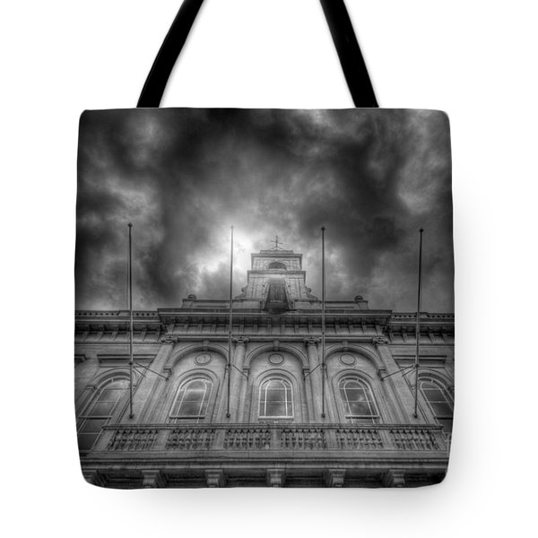 Loughborough Town Hall Tote Bag by Yhun Suarez