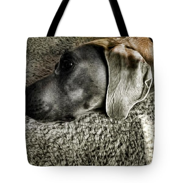 Lounging Tote Bag by Adam Vance