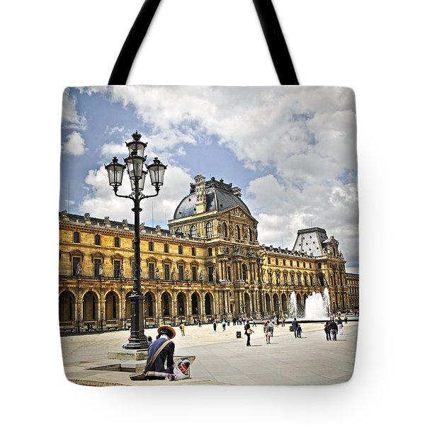 Louvre Museum Tote Bag by Elena Elisseeva