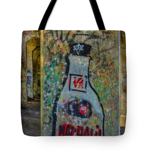 Love Graffiti Tote Bag by Susan Candelario