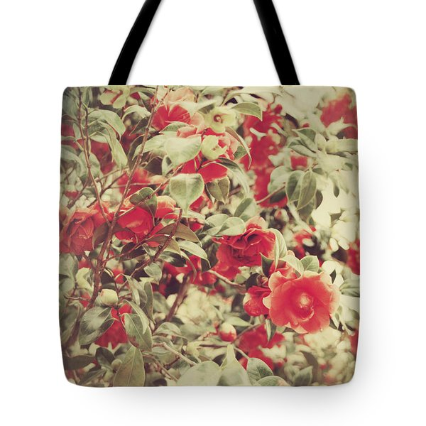 Love Is All Around Tote Bag by Laurie Search