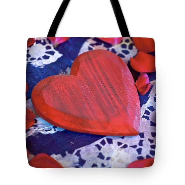 Love Tote Bag by Joana Kruse