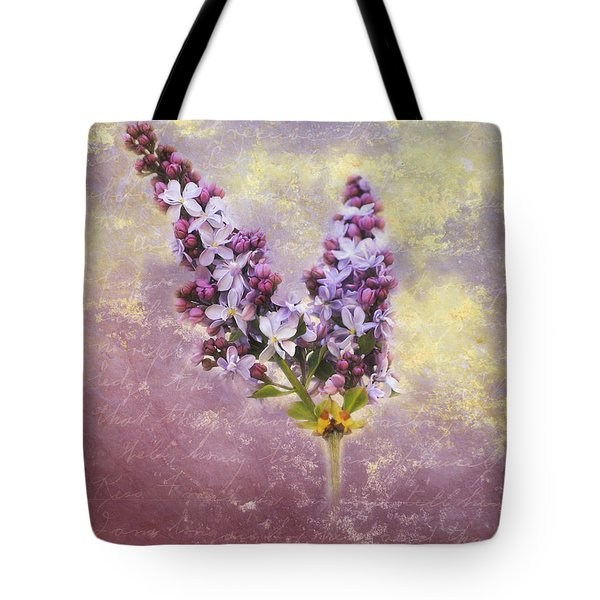 Love Letter Iv Tote Bag by Jai Johnson