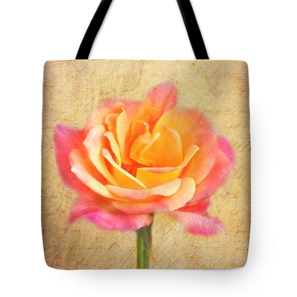 Love Letter Tote Bag by Jai Johnson