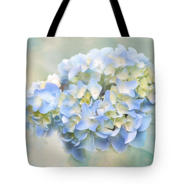 Love Letter VII Hydrangea Tote Bag by Jai Johnson