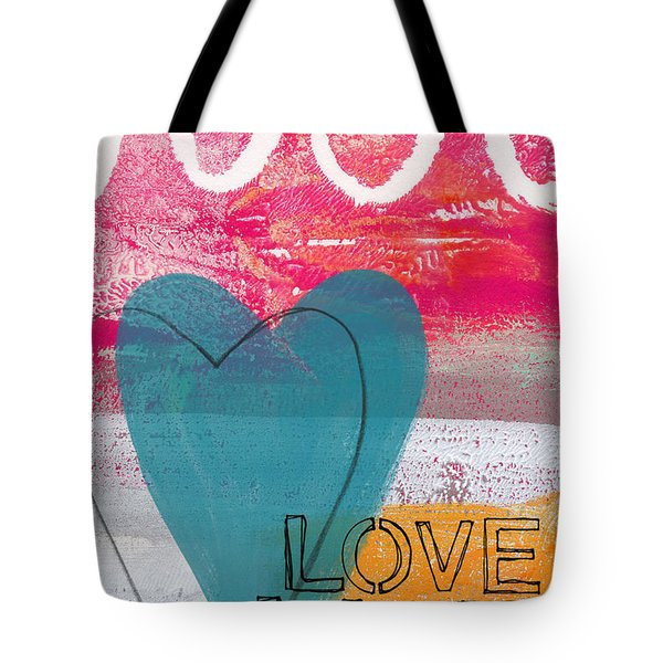 Love Life Tote Bag by Linda Woods