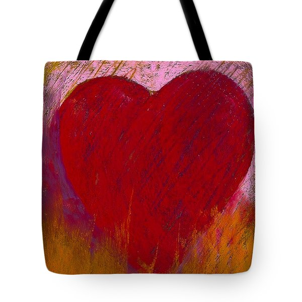 Love On Fire Tote Bag by David Patterson