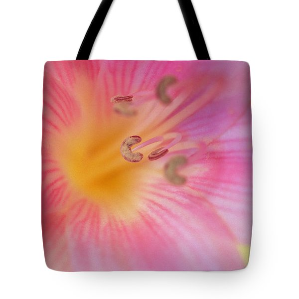Lovely Lily Tote Bag by Kathy Yates