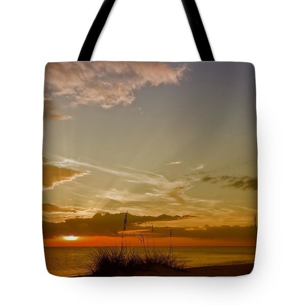 Lovely Sunset Tote Bag by Melanie Viola