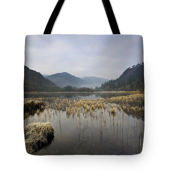 Lower Lake, Glendalough, County Tote Bag by Peter McCabe