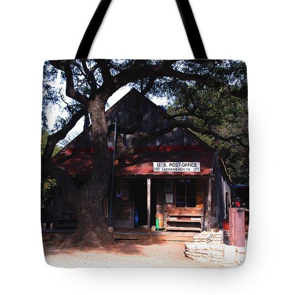 Luckenbach Texas - II Tote Bag by Susanne Van Hulst