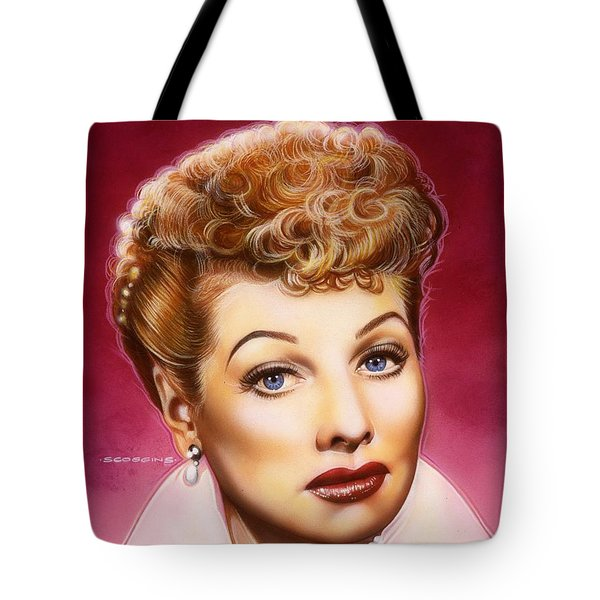 Lucy Tote Bag by Tim  Scoggins