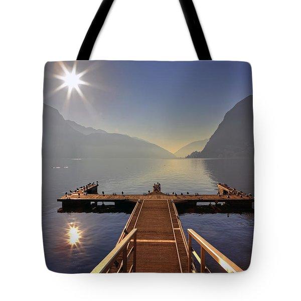 Lugano Tote Bag by Joana Kruse