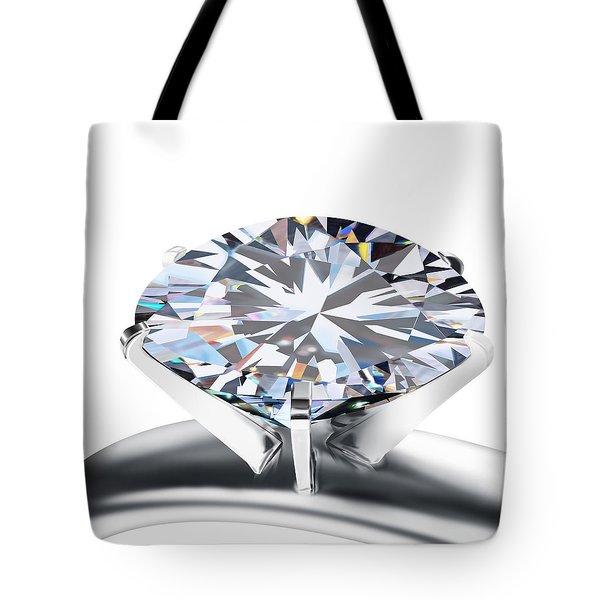 Luxury Wedding Ring  Tote Bag by Setsiri Silapasuwanchai