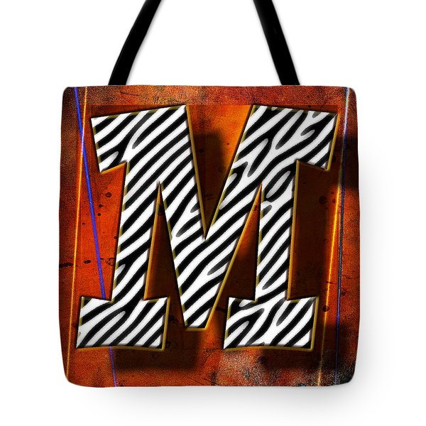 M Tote Bag by Mauro Celotti