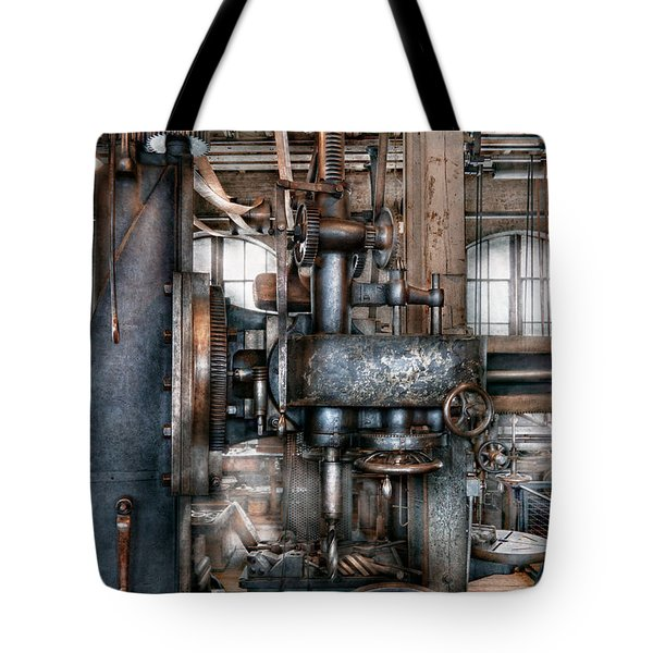 Machinist - My Really Cool Job Tote Bag by Mike Savad