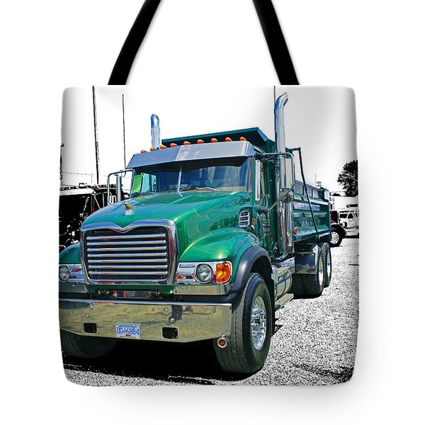 Mack Abstract Tote Bag by Randy Harris