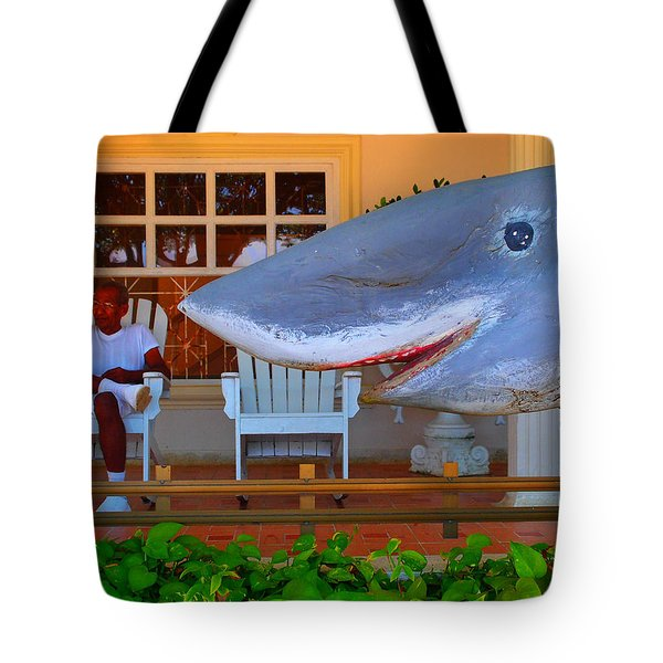 Mack De Cuchillo Tote Bag by Skip Hunt