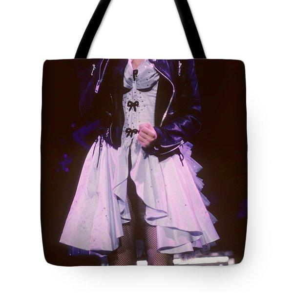 Madonna 1987 B Tote Bag by David Plastik