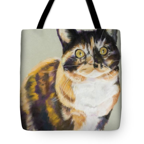 Maggie Mae Tote Bag by Pat Saunders-White