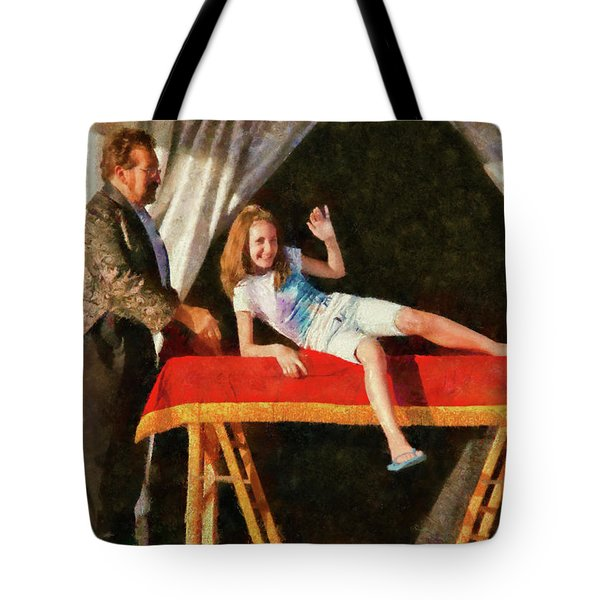 Magic - Can I have a Volunteer  Tote Bag by Mike Savad