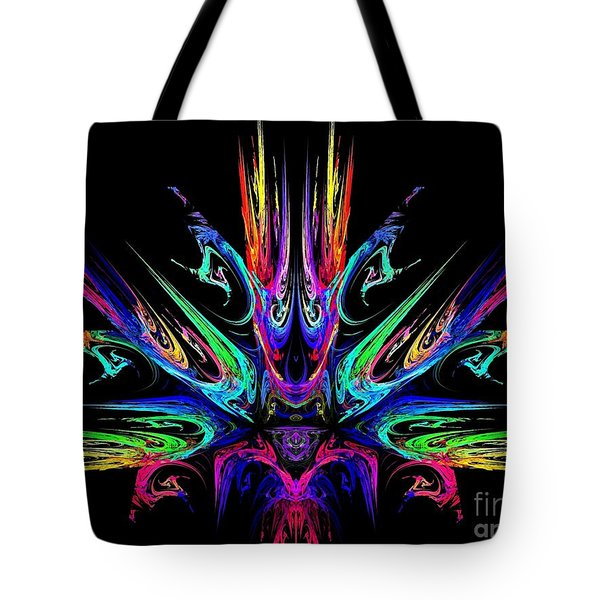 Magic Fire Tote Bag by Klara Acel