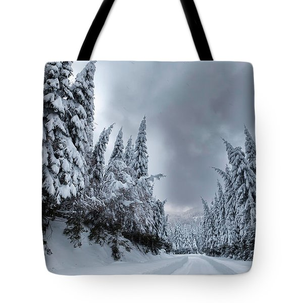 Magnificent Forest Tote Bag by Evgeni Dinev