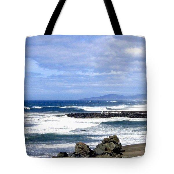 Magnificent Sea Tote Bag by Will Borden
