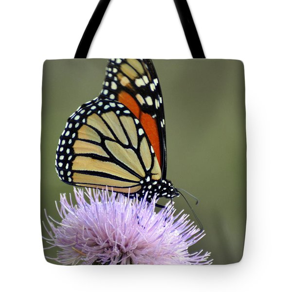 Magnificient Monarch Tote Bag by Marty Koch