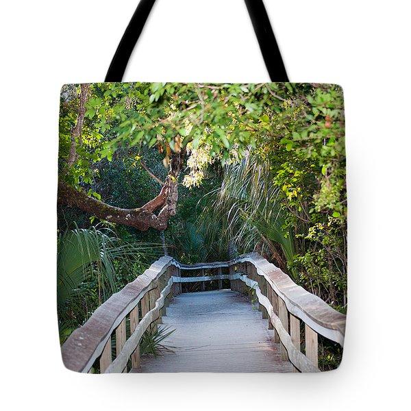 Mahogany Hammock Tote Bag by Kenneth Albin