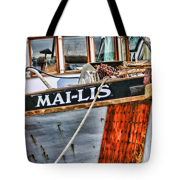 Mai-lis Tug-hdr Tote Bag by Randy Harris