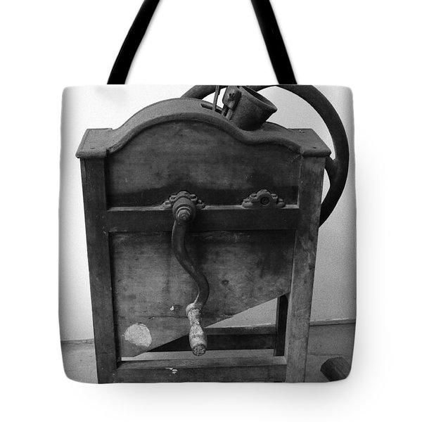 Maize Cob Sheller Tote Bag by Gaspar Avila