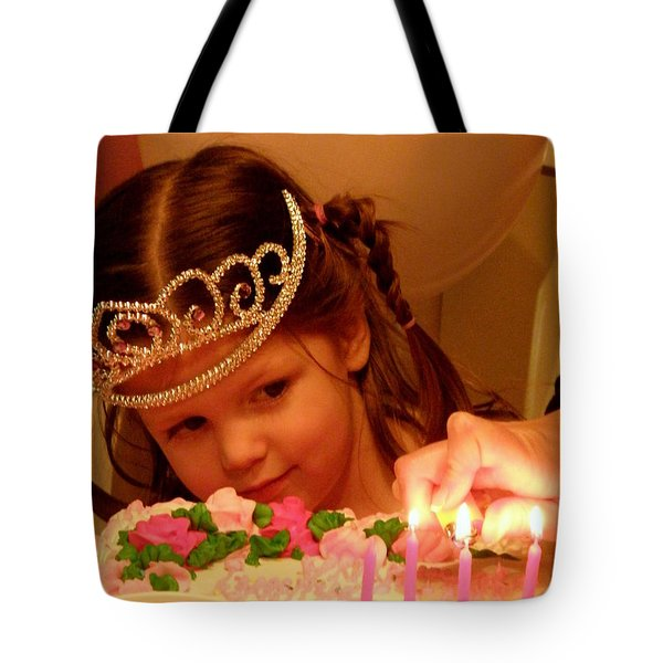 Make A Wish Tote Bag by Lainie Wrightson